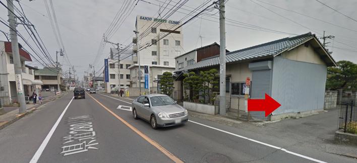 ミュゼ高松店の道順