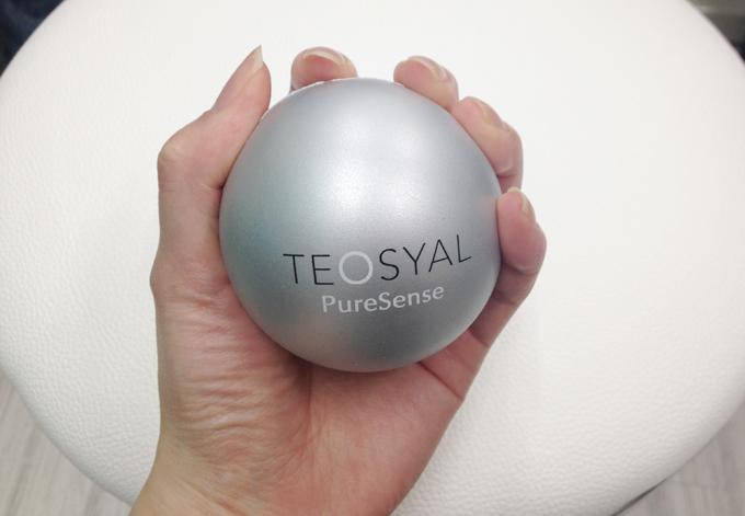 トイトイトイクリニックの痛み緩和のために握るボール
