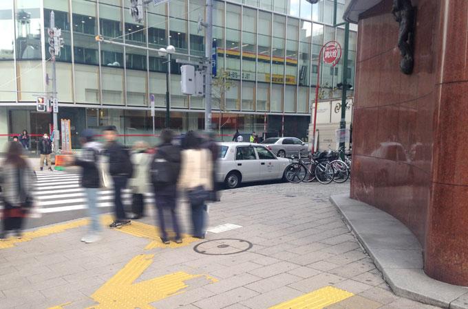 ミュゼ札幌中央店の行き方(北洋銀行)