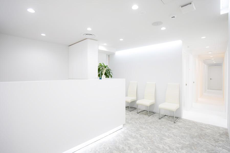 GLOWクリニック待合室